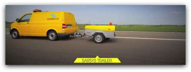 SARSYS Trailer Friction Tester