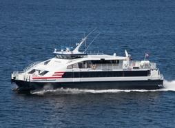 Hurtigbåt. Foto: Norled