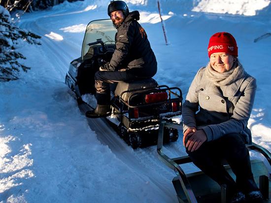 Frank Feuker och Dorothee Gebhardth, Camping 45