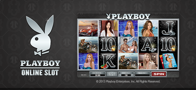 New Playboy slot now LIVE!