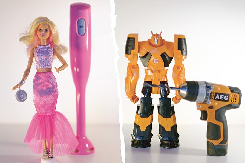 Barbie och He-man