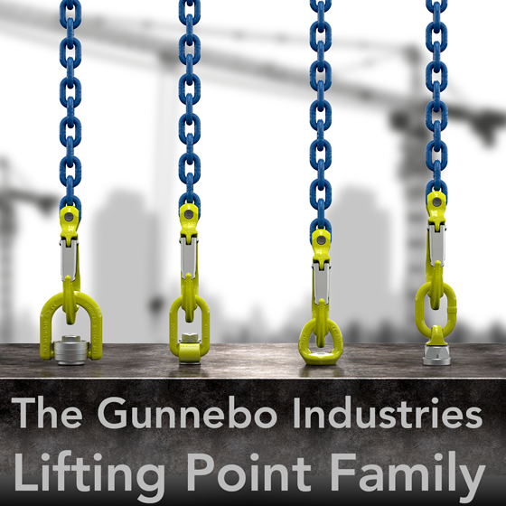 The Gunnebo Industries Lifting Point Family