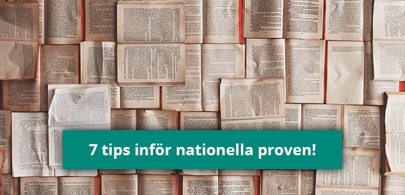7 tips inför nationella proven!