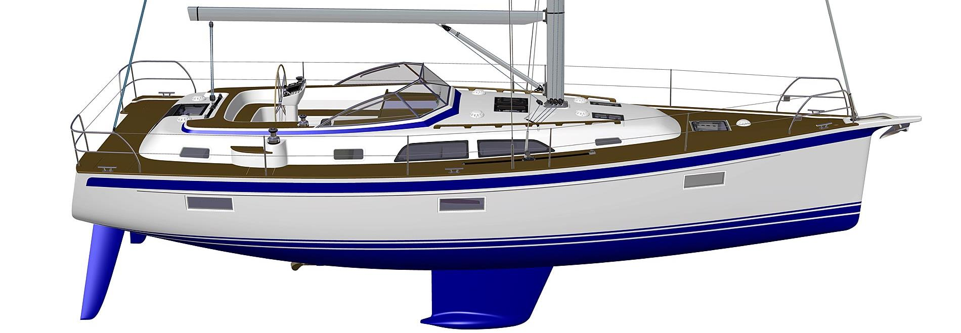 Pre-premiere for the all-new Hallberg-Rassy 40C