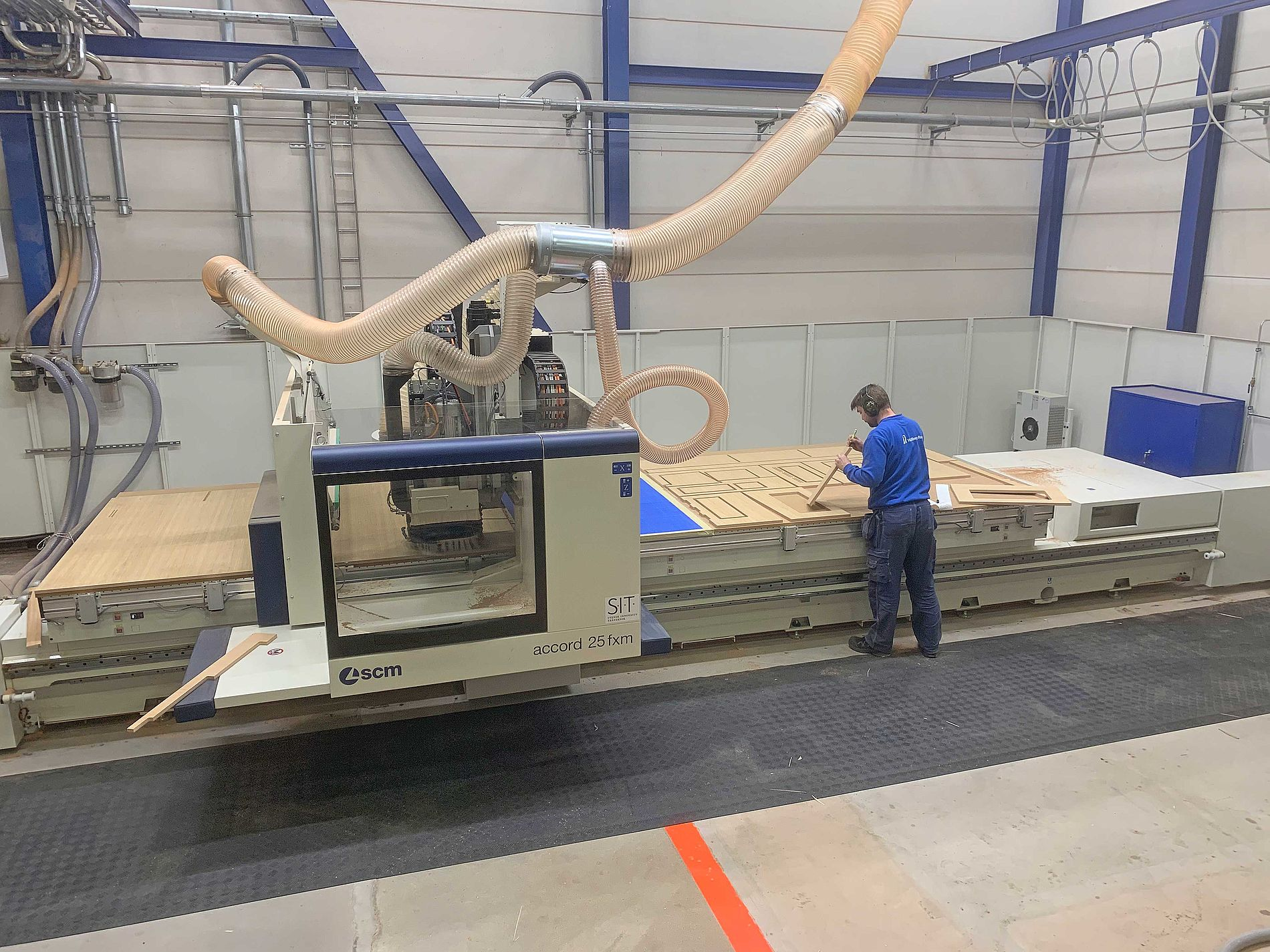 New CNC milling machine