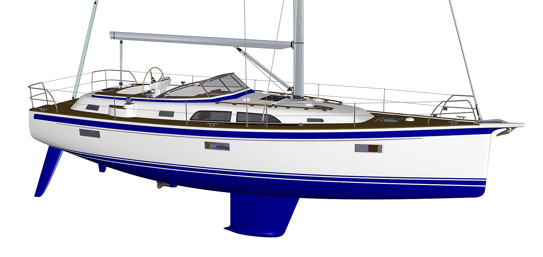 All-new model presented: Hallberg-Rassy 40C