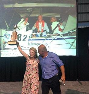 Bulgarian Hallberg-Rassy 412 category winner in ARC
