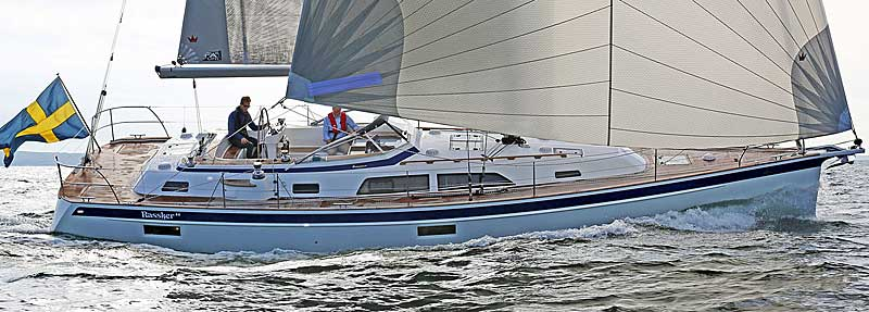Hallberg-Rassy 44 at Cannes Yachting Festival