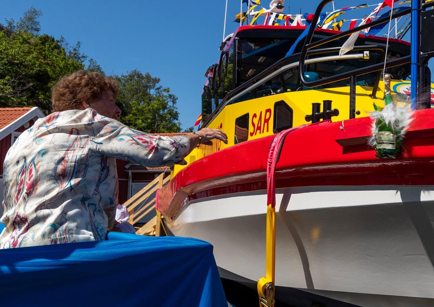 Rassy family donates 50 ft rescue boat