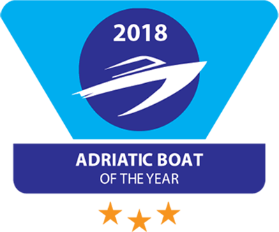 Hallberg-Rassy 44 prize winner in Adriatic Boat of the Year 2018