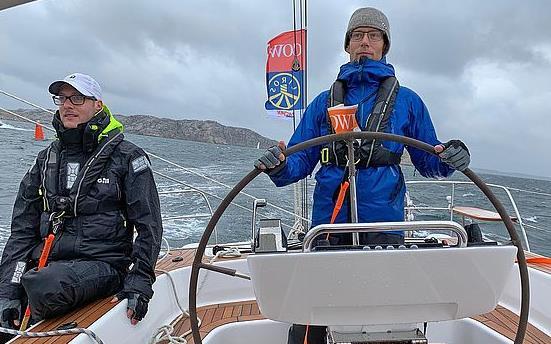 Hallberg-Rassy 44 category winner in Tjörn Runt 2019