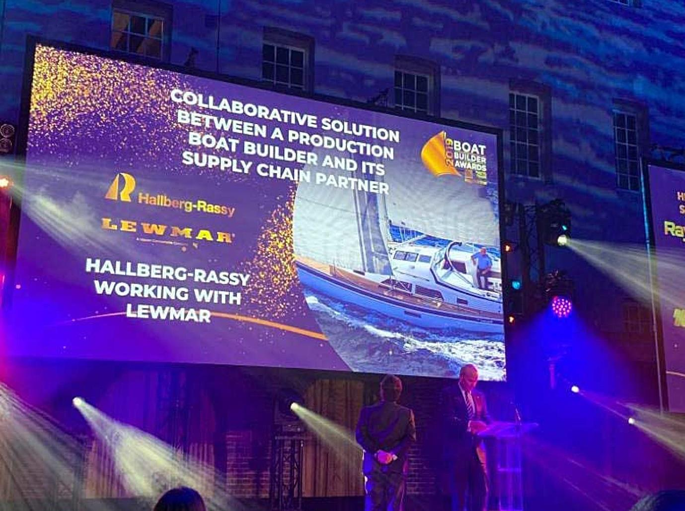 Hallberg-Rassy received Honourable Mention at Boat Builder Awards