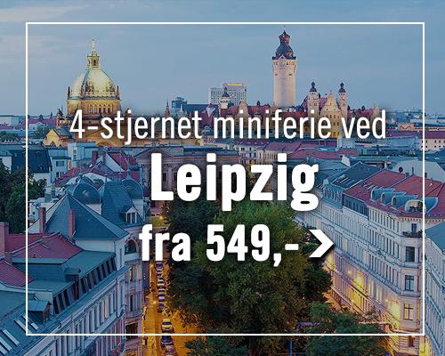 Prisvenlig miniferie ved Leipzig