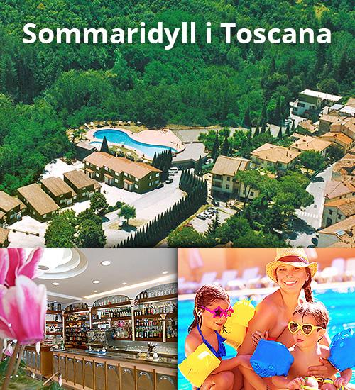 Hotell med poolområde för hela familjen i Toscana