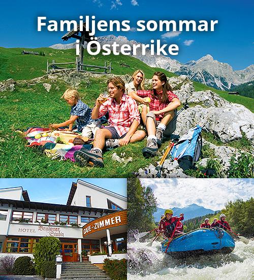 Familjens sommar i Tyrolen inkl. Entré till äventyrspark