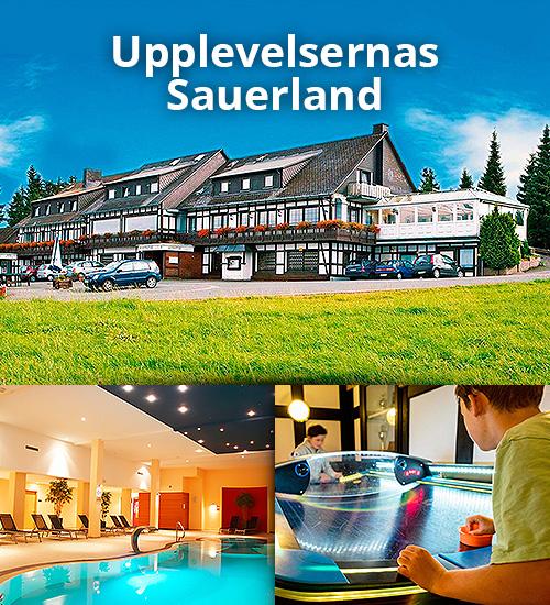 Upplevelsespäckad semester i Sauerland