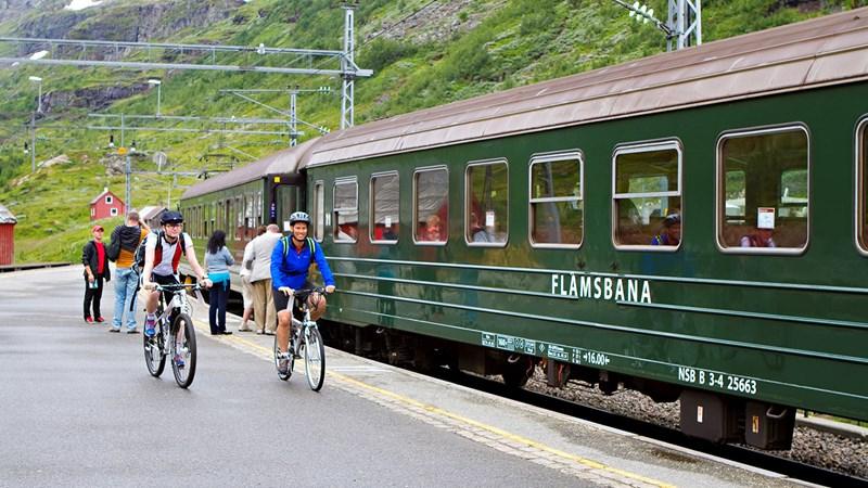 La ferrovia di Flåm - Foto: Kaitlin Bailey Matador – Network FjordNorway