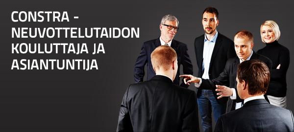 Constra – neuvottelutaidon kouluttaja ja asiantuntija