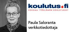 Terveisin Paula Saloranta