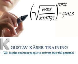 Gustav Käser Training – Motivoiva ja vaikuttava johtaja