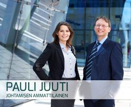 Pauli Juuti Oy – johtamiskoulutusta ja kirjallisuutta