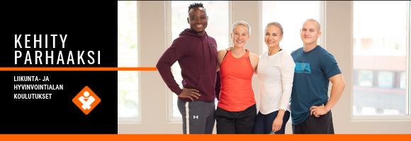 Trainer4You - liikunta- ja hyvinvointialan koulutukset