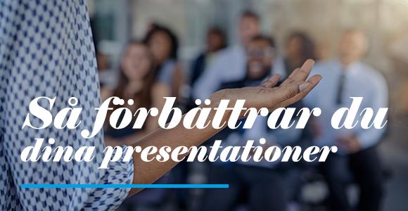 Förbättra dina presentationer