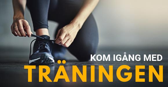 Så kommer du igång med din träning