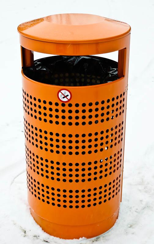 Linus avfallsbeholdere