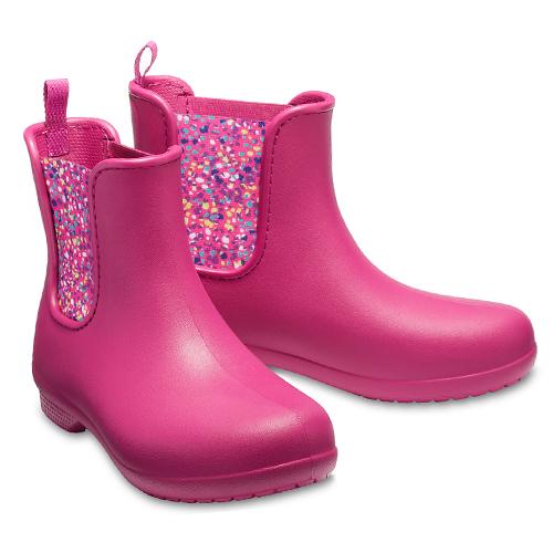 Crocs Freesail Chelsea Boot Berry Dots