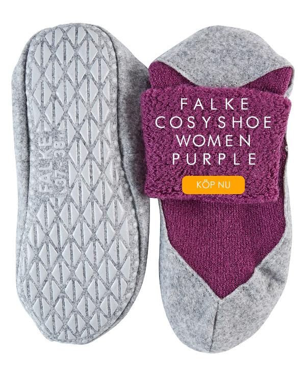 FALKE Cosyshoe Women Slippers Purple