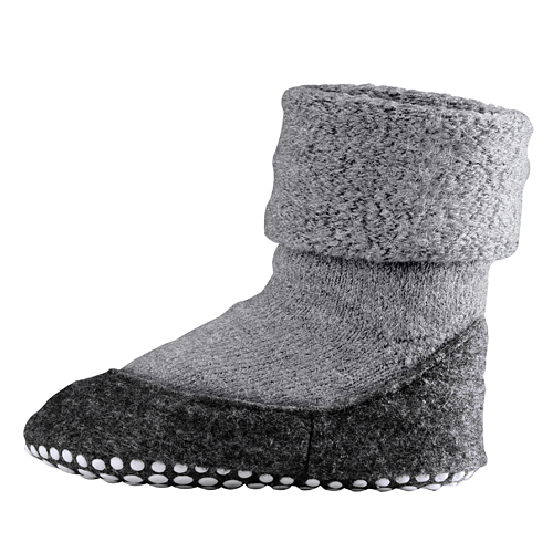 FALKE Cosyshoes Kids Slippers Light Grey
