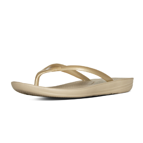 Fitflop IQushion Ergonomic Flip-flops Gold
