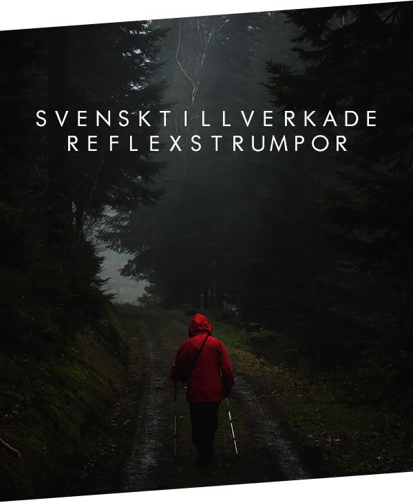 Svensktillverkade reflexstrumpor