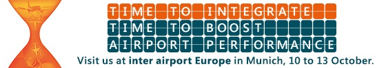 Save the date for inter airport Europe in Munich 2017