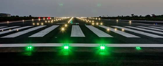 ADB SAFEGATE lights up Ghana's Tamale Airport runway