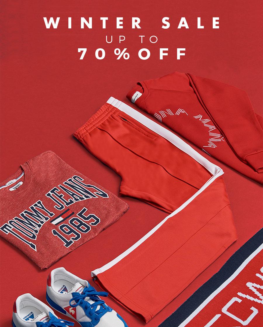 Winter Sale upp till 70%