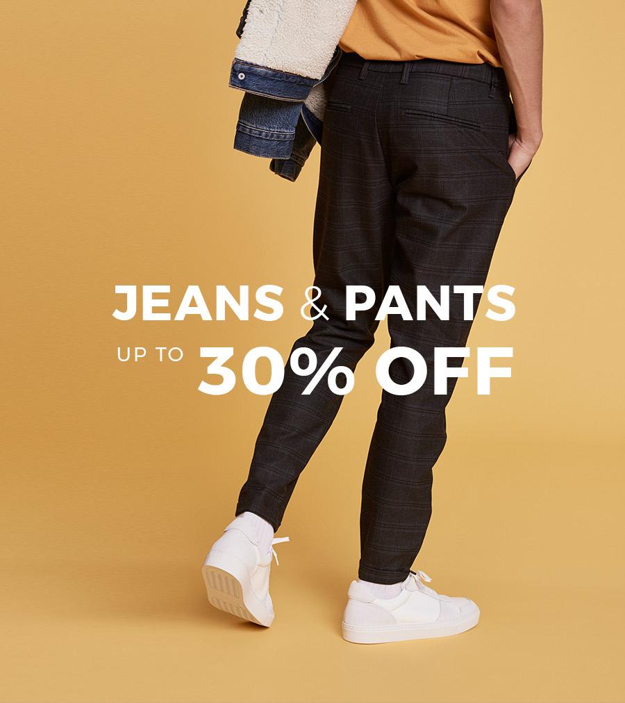 Byxor & jeans upp till 30%