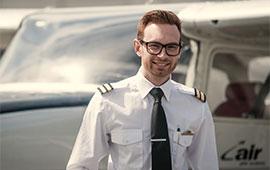 Mød Kasper Lassesen, pilotstuderende ved CAPA