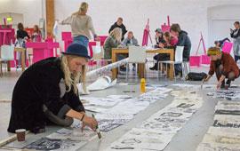 Tag på kunsthøjskole i Holbæk