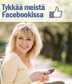 Tykkää meistä Faceboookissa!