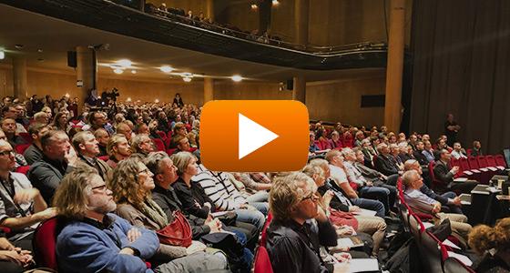 Filmade presentationer från senaste Ingenjörsmässigt byggande i trä i Stockholm