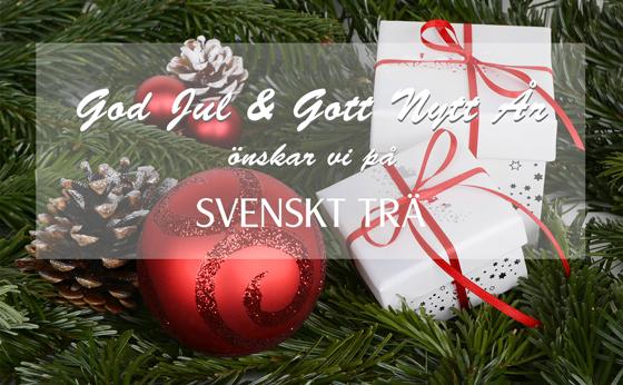 God Jul & Gott Nytt År önskar vi på Svenskt Trä