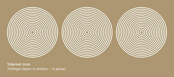 Träpriset 2020. Tävlingen öppen 15 oktober – 15 januari