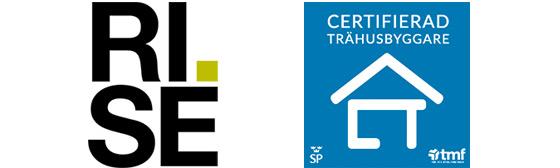LOGOS RISE och Certifierad Trähusbyggare