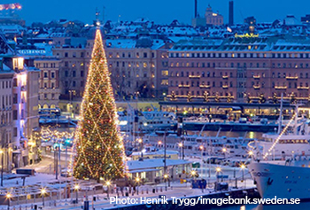 Стокгольм в праздничном одеянии