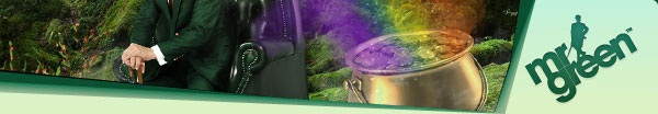 Mr Green Super Shamrock Bonus - celebrating St Patricks' Day 2013