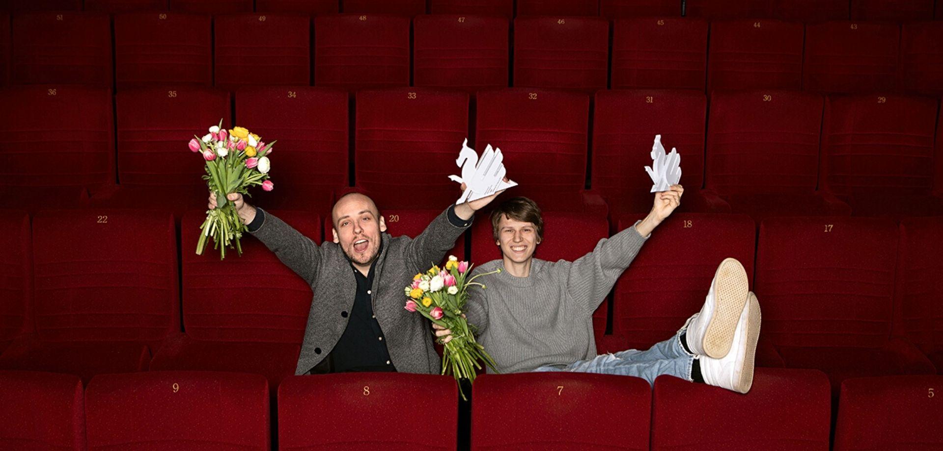 Ronnie Sandahl and Erik Enge, foto: Sandra Myhrberg