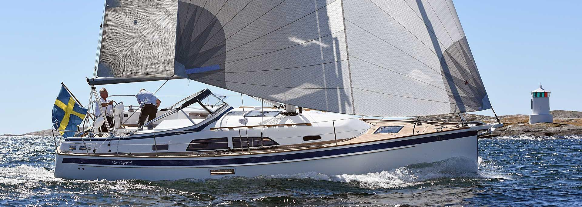 Hallberg-Rassy 340 at Yokohama Boat Show 2-4 October 2020