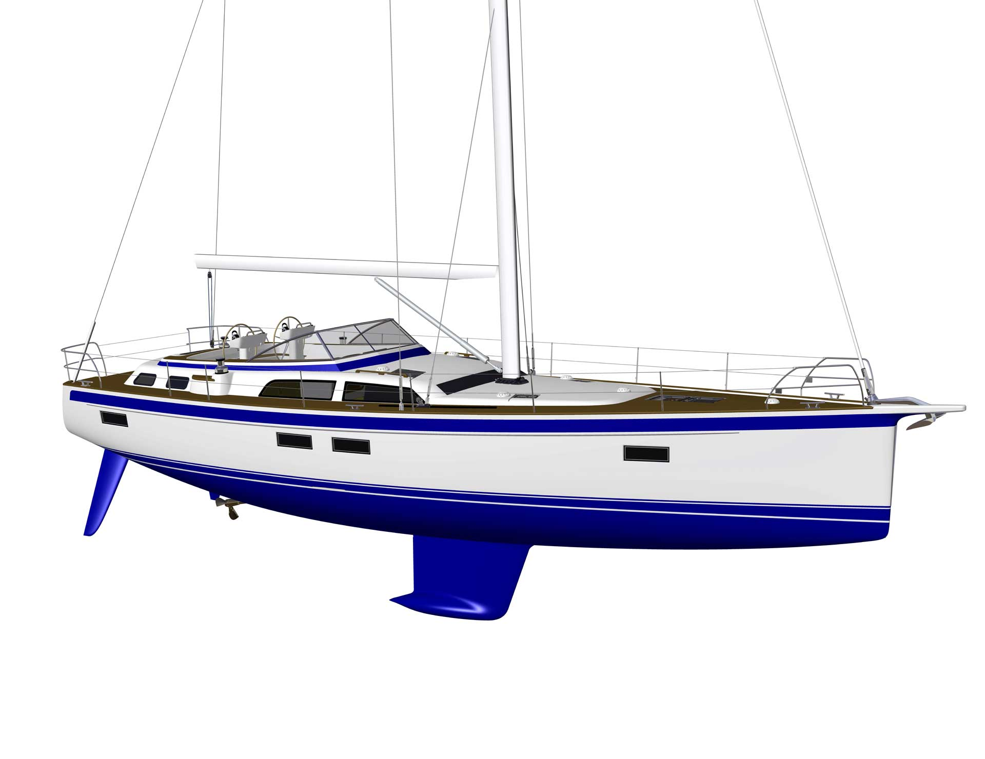 Hallberg-Rassy 340, 40C, 44 and the world premiere 50 at Boot Düsseldorf 23-31 January 2021